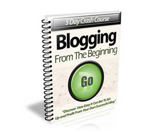 Blogging From The Beginning